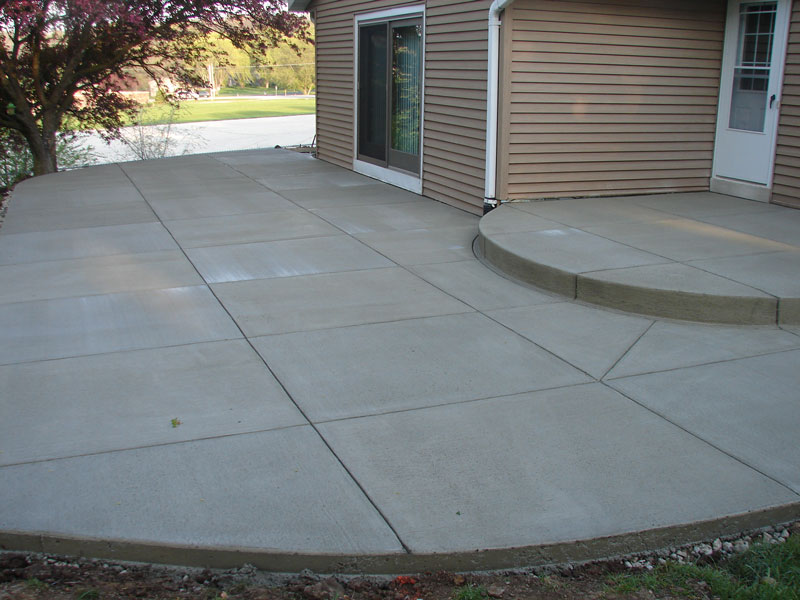 Patio concrete-Port St Lucie Concrete Contractor & Repair Services