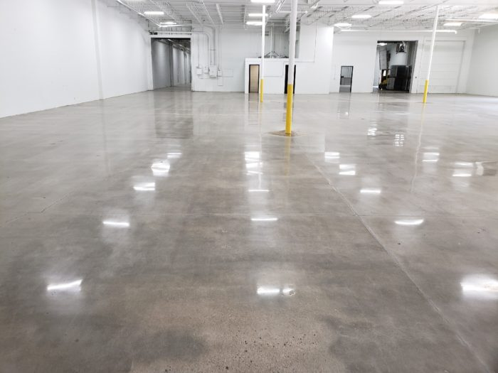 Polished concrete-Port St Lucie Concrete Contractor & Repair Services