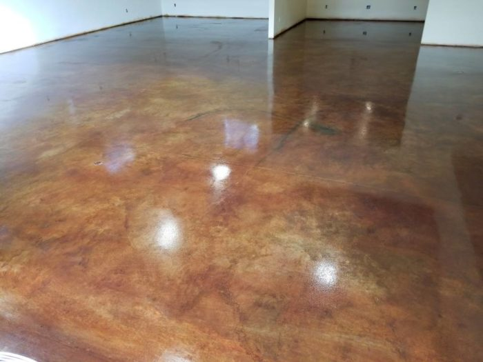 Stained concrete-Port St Lucie Concrete Contractor & Repair Services